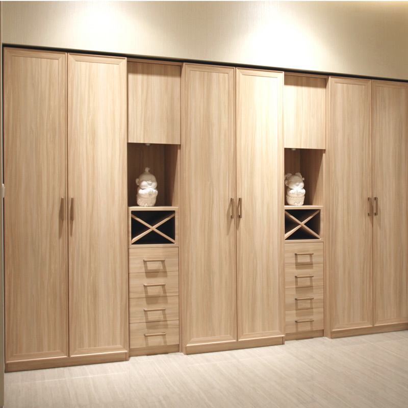 China Melamine Wood Closet Wardrobe With Drawers Yg11214 Photos Amp Pictures Made In China Com