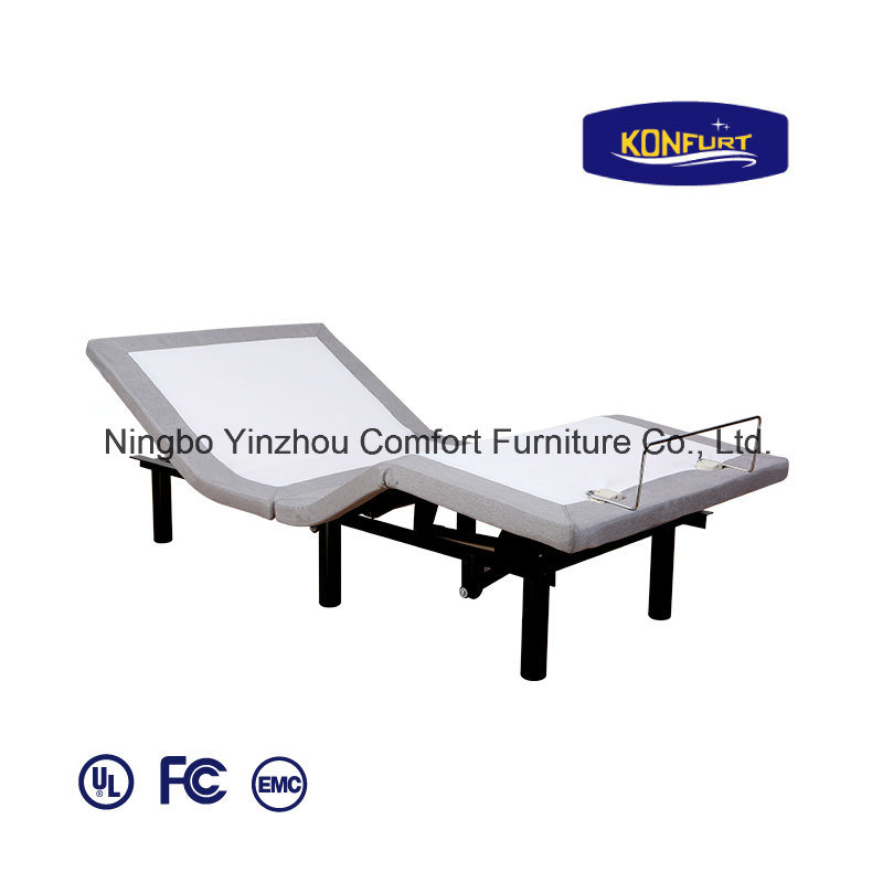 Folding Bed Freightable Bed Electric Adjustable Bed Home Furniture 100f