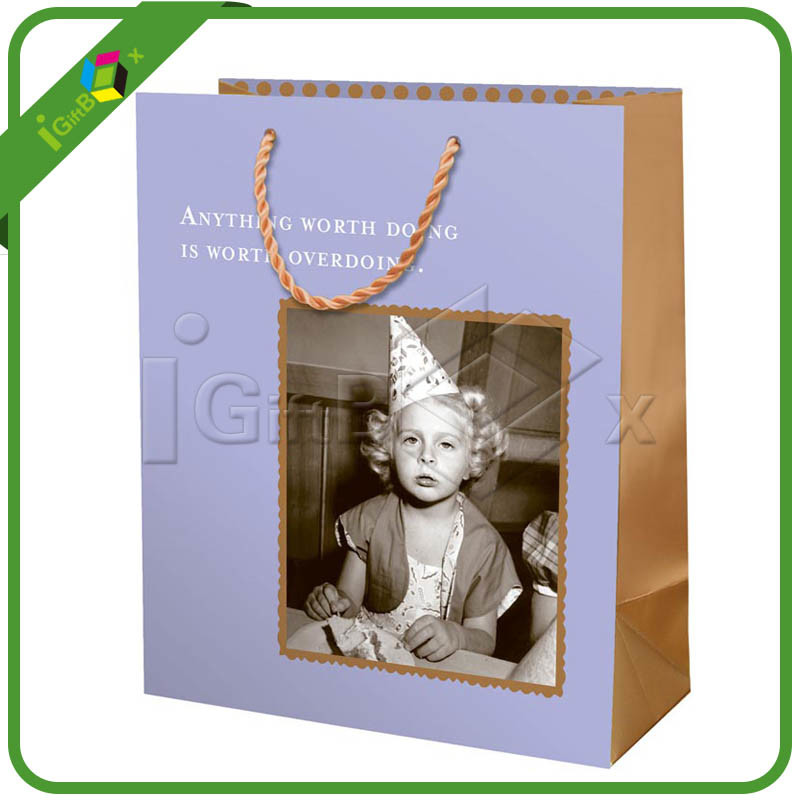 Paper Carry Bags / Paper Carrier Bag / Foil Lined Paper Bags