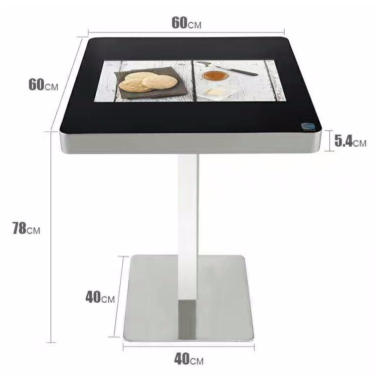 22 Inch Smart Coffee Table LCD Panel Interactive Touch Screen Monitor Kiosk