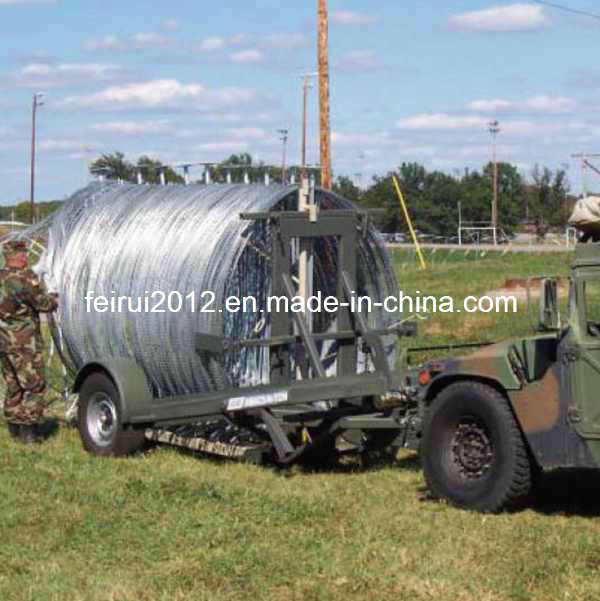 Military and Police Mobile Security Razor Wire Barriers