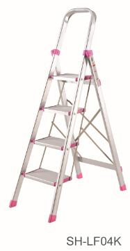 Step Stool Foldable Aluminum Ladder (SH-LF04K)