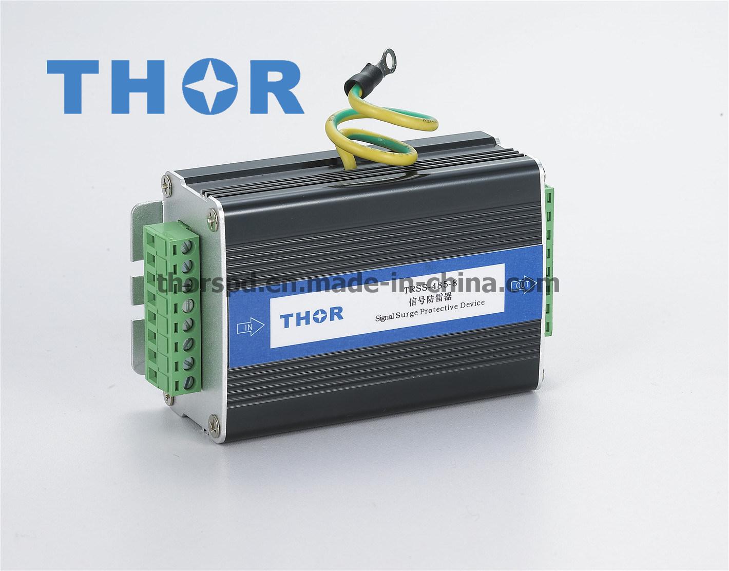 Signal Lightning Arrester /Surge Protector for 8 Lines for CE