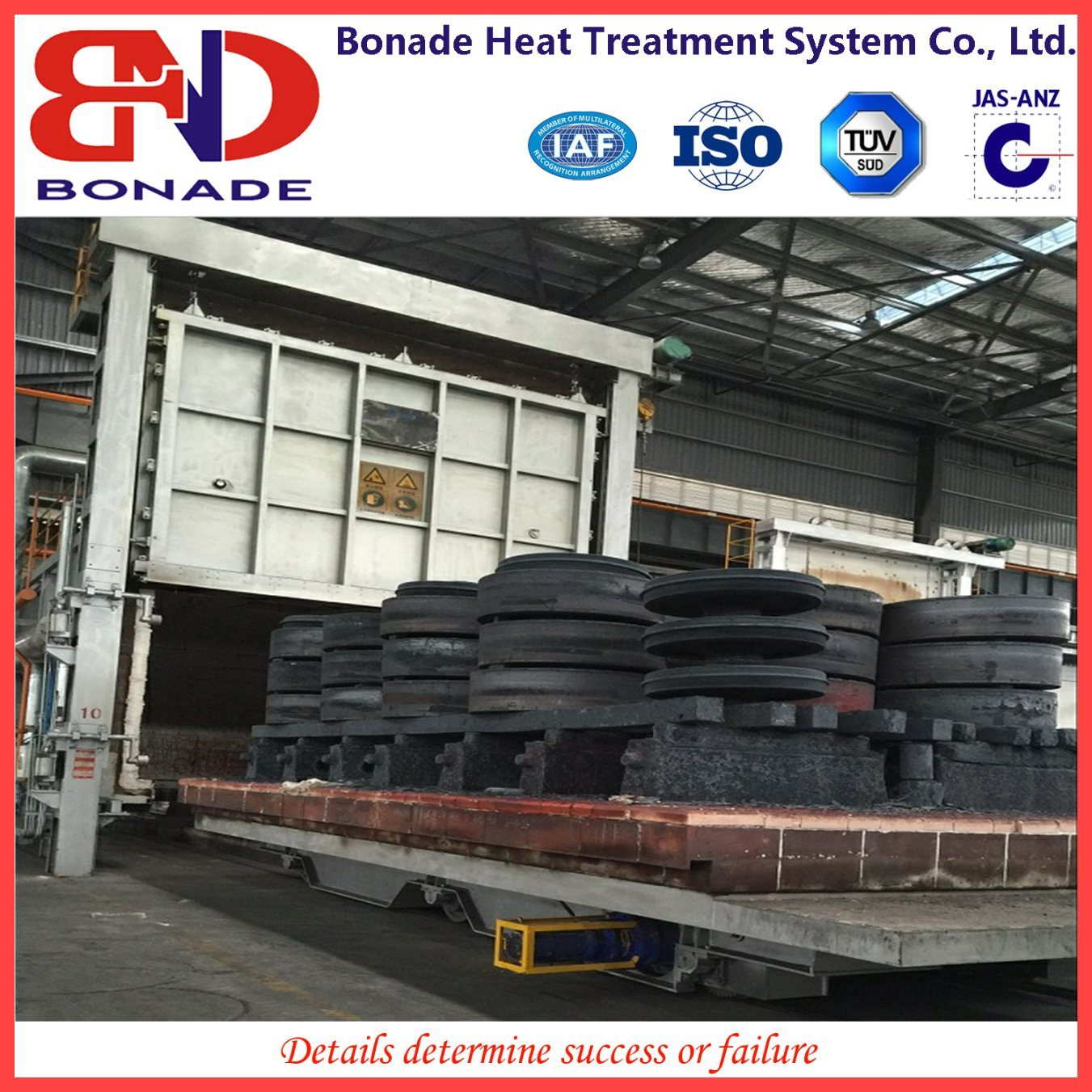 Bogie Hearth Annealing Furnace for Heat Treatment-Trolley Furnace