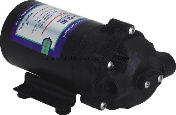 Lanshan 75gpd Diaphragm RO Booster Pump - Strong Self Priming, Designed for 0 Inlet Pressure RO Pump