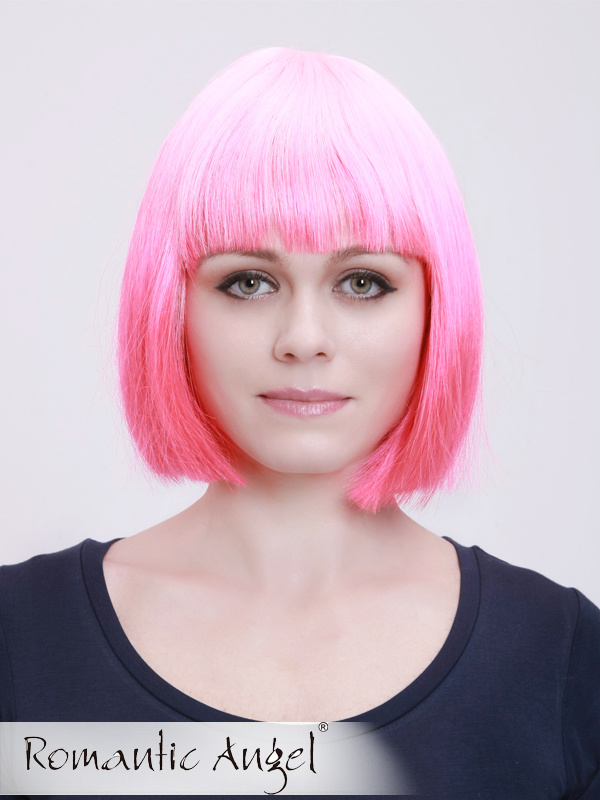 Straight Fashion Colorful Synthetic Bob Wigs