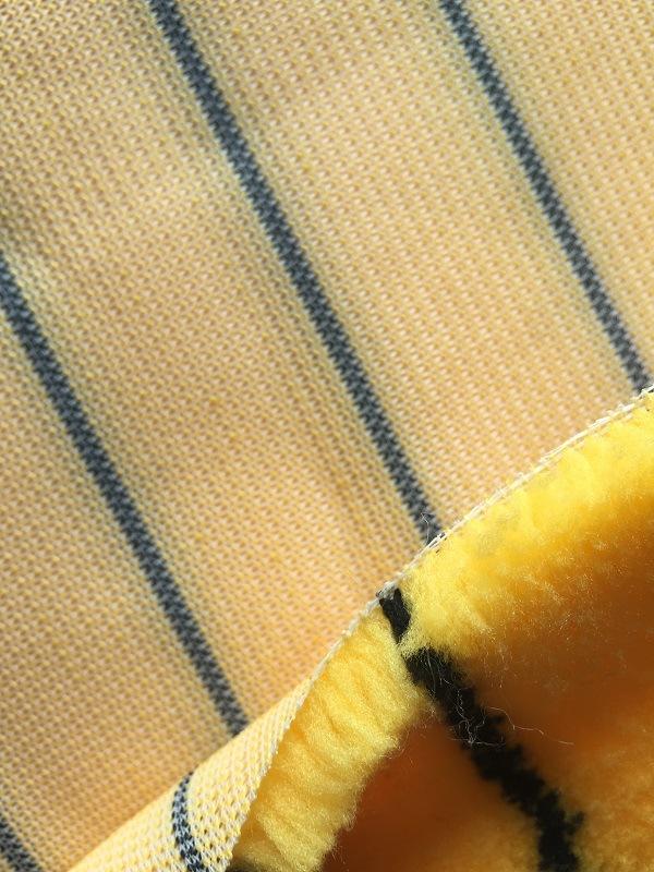 Senhe 720GSM 12mm Yellow Black Fabric