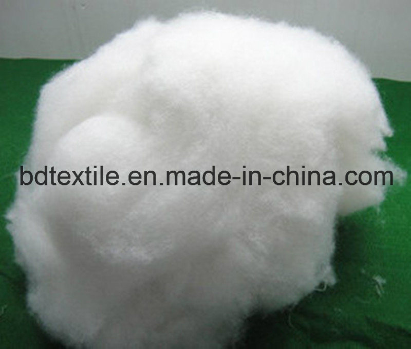 Super White Pet Recycled Polyester Fiber for 1.2D to 15D