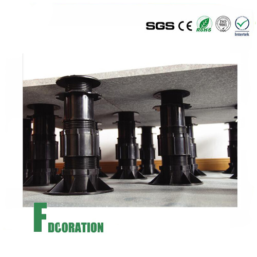 Height Adjustable Wood Tile & Marble Pedestal