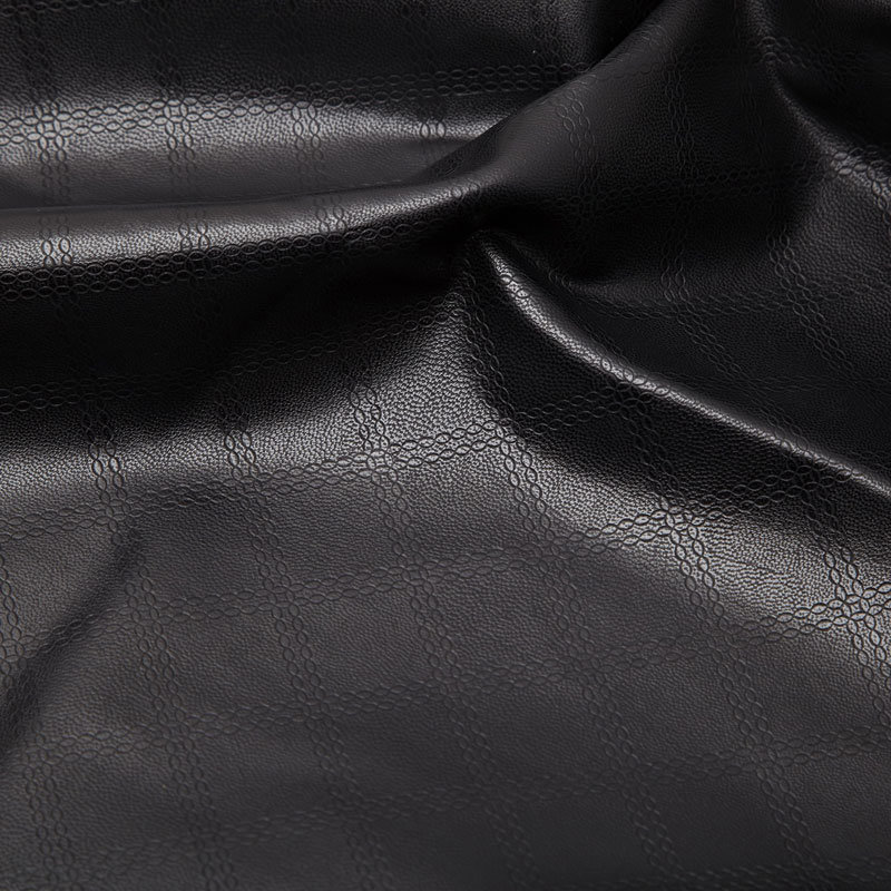 Nicely Designed Synthetic Leather for Men′s Jacket (WDHF1312204)