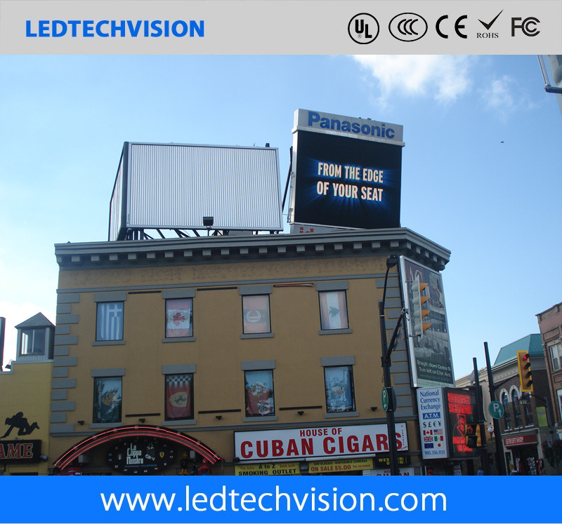 P10mm Outdoor Building Roof LED Display