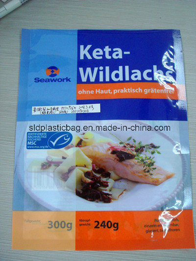 Colorful Ny/PE Frozen Vacuum Bag for Seafoods