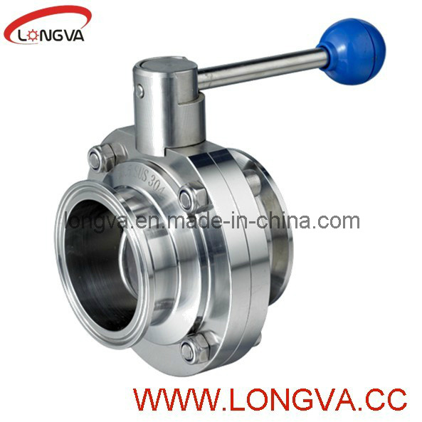 Ss Clamp End Butterfly Valve