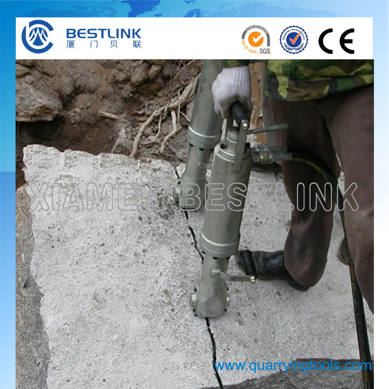 Diesel Power Pack Hydraulic Splitter for Granite Sandstone and Concrete