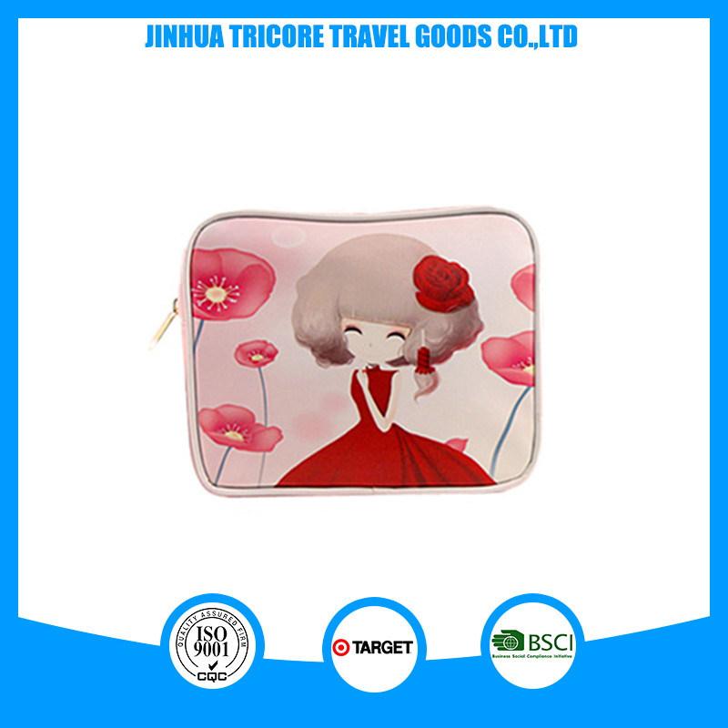 Designed Popular Fashion Printed PU Zipper Cosmetic Bags
