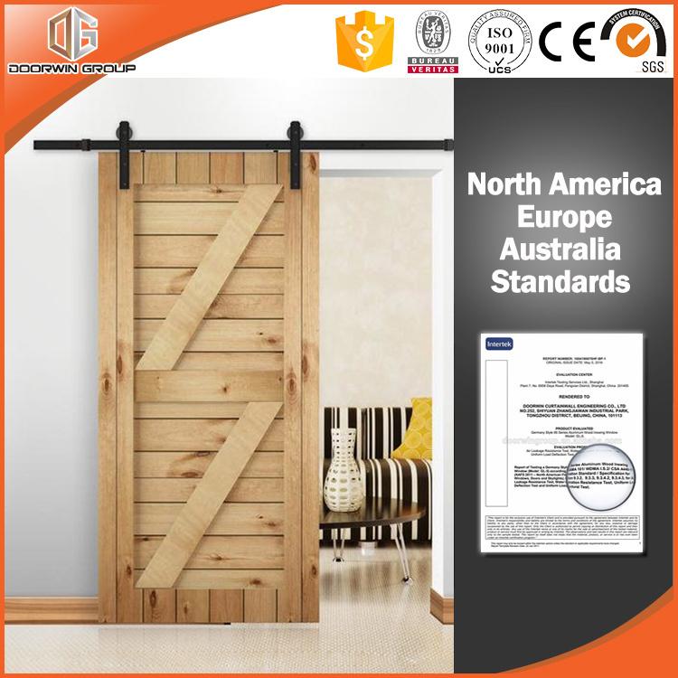 Japanese America Design Wood Barn Door