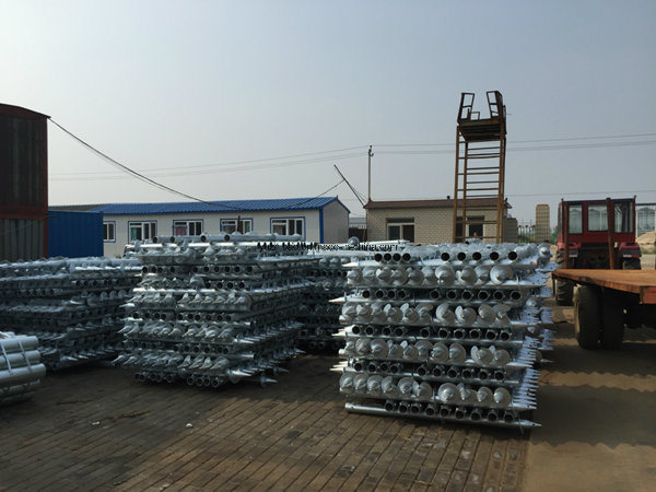 Galvanized Ground Anchor, Fence Anchor, Ground Screw