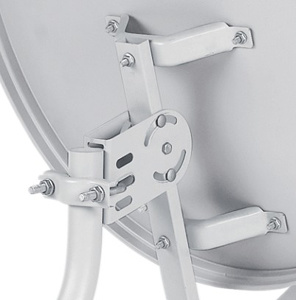 Ku Band 60cm Satellite Dish Antenna Galvanized Steel