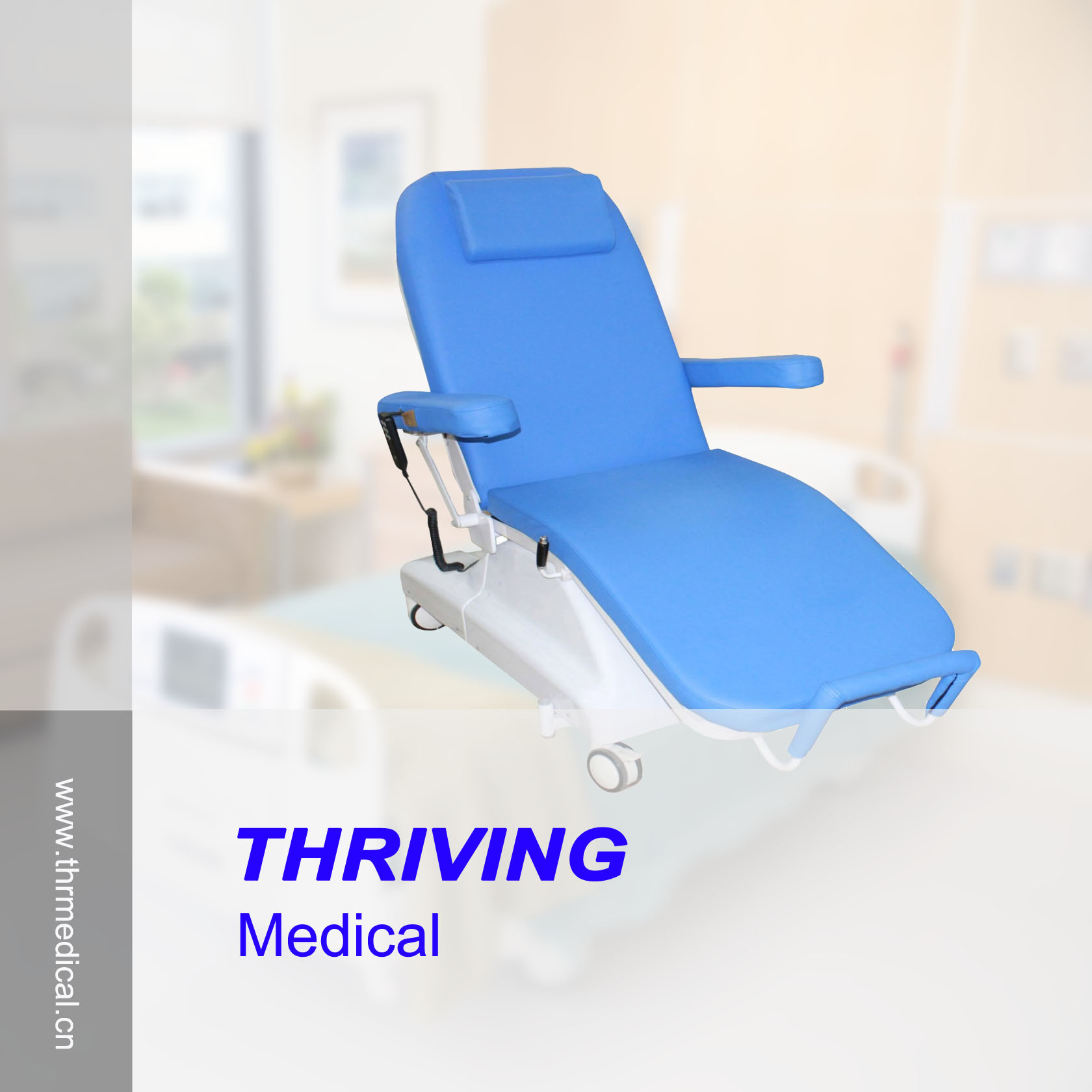 China Medical Dialysis Chair with Two Electric Motors THR DC210