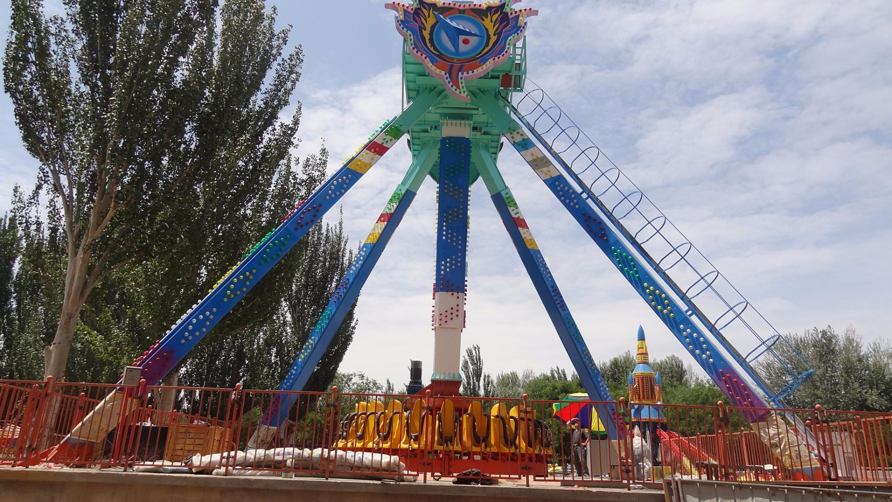 Most Pupluar Playground Necessary Facility Big Pendulum
