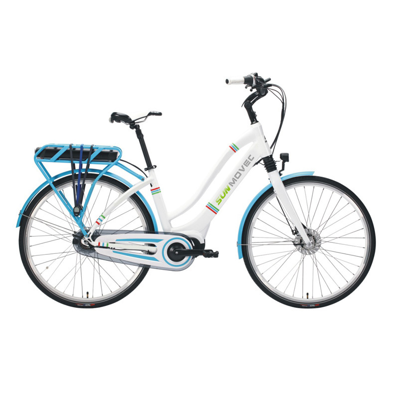 "Bafang Maxdrive 28"" Lady Ebike Shimano Nexus 7 Speed City Electric Bike"