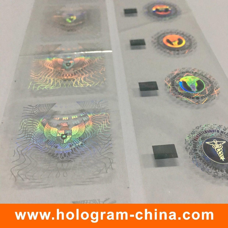 Custom Demetalation Hologram Hot Stamping Foil