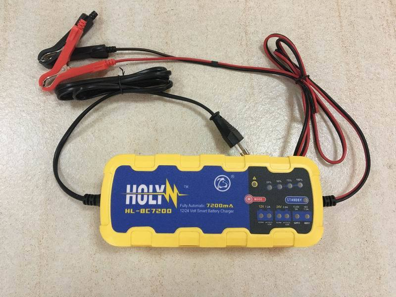 Smart Battery Charger for Car