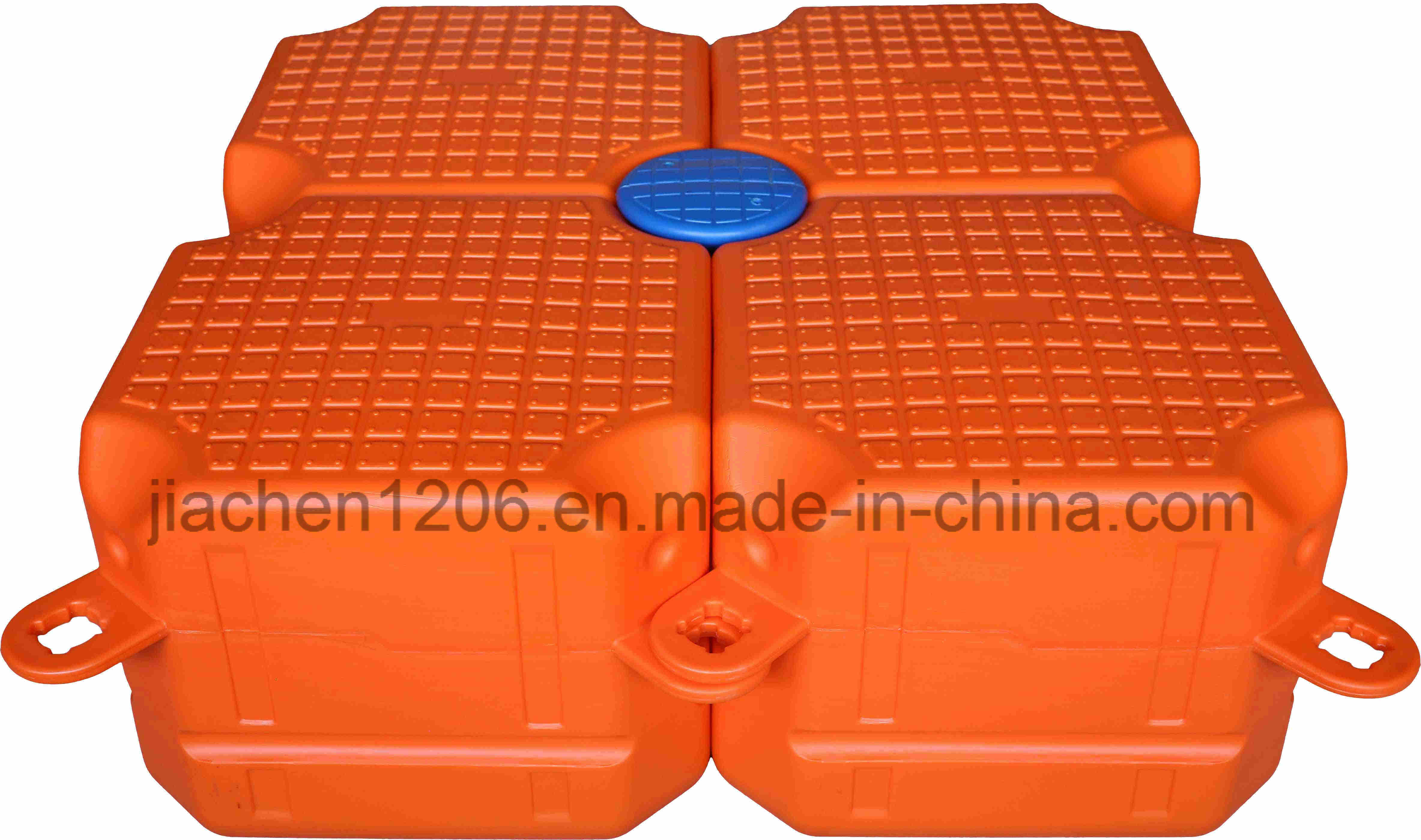 Popular Orange Single Cube Floating Dock Used Boat Docks for Sale
