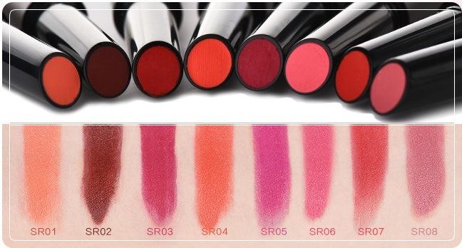 2017 Popular New Press Type Matte Lipstick Private Label