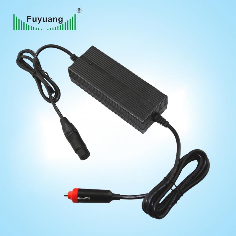 Car Battery Charger 1.5A DC DC Converter 12V to 48V
