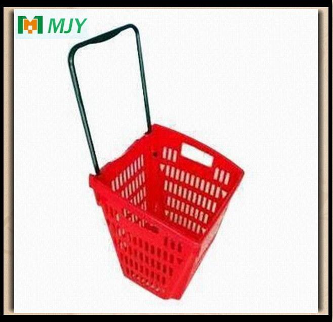 Rolling Shopping Basket Mjy-Tr11