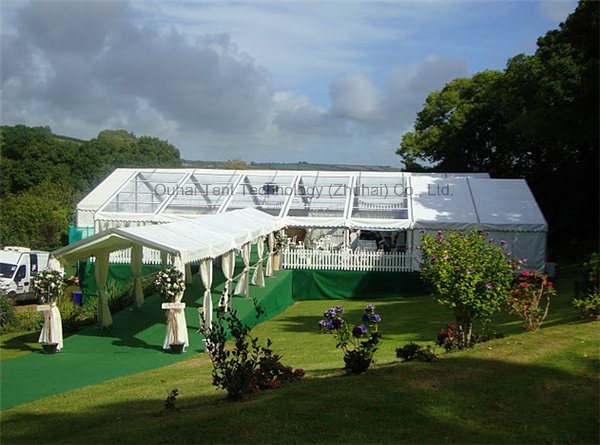 Clear Roof Top Wedding Party Marquee Tent 15m X 35m