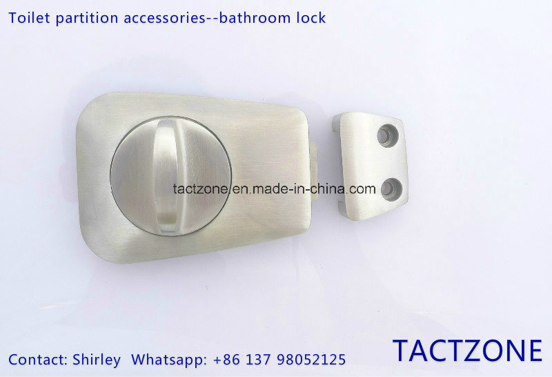 Toilet Partition Accessories Stainless Steel Thumb Turn Door Indicator Lock