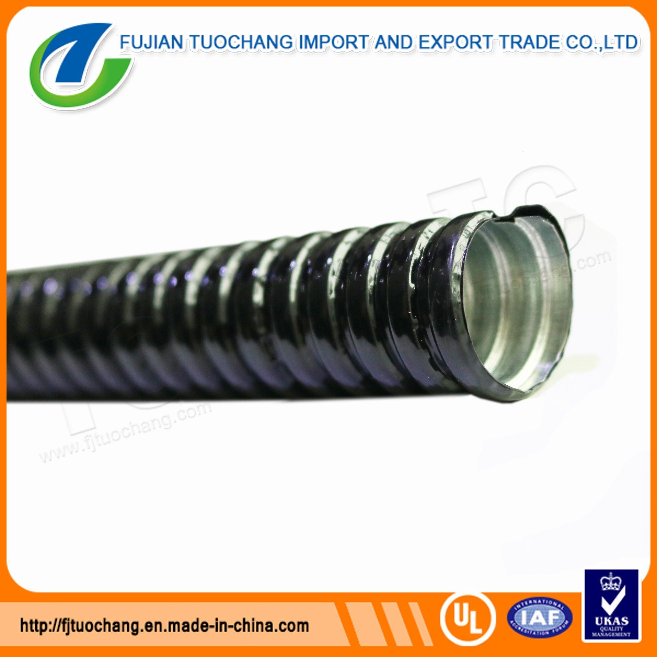 Gi PVC Coated Flexible Pipe Electrical Metal Conduit