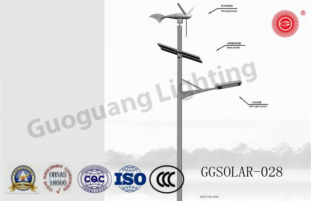 Factory Direct IP65 Wind&Solar Street Light