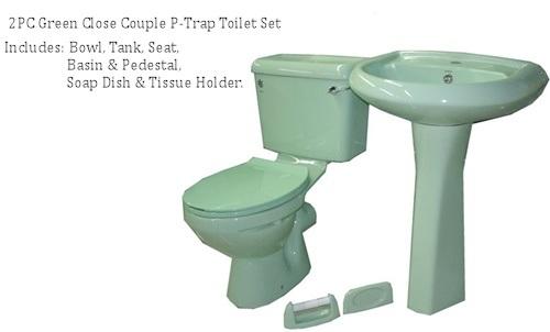 2036 Twyford Sanitary Ware, British Type Toilet Set, Washdown Two-Piece Toilet