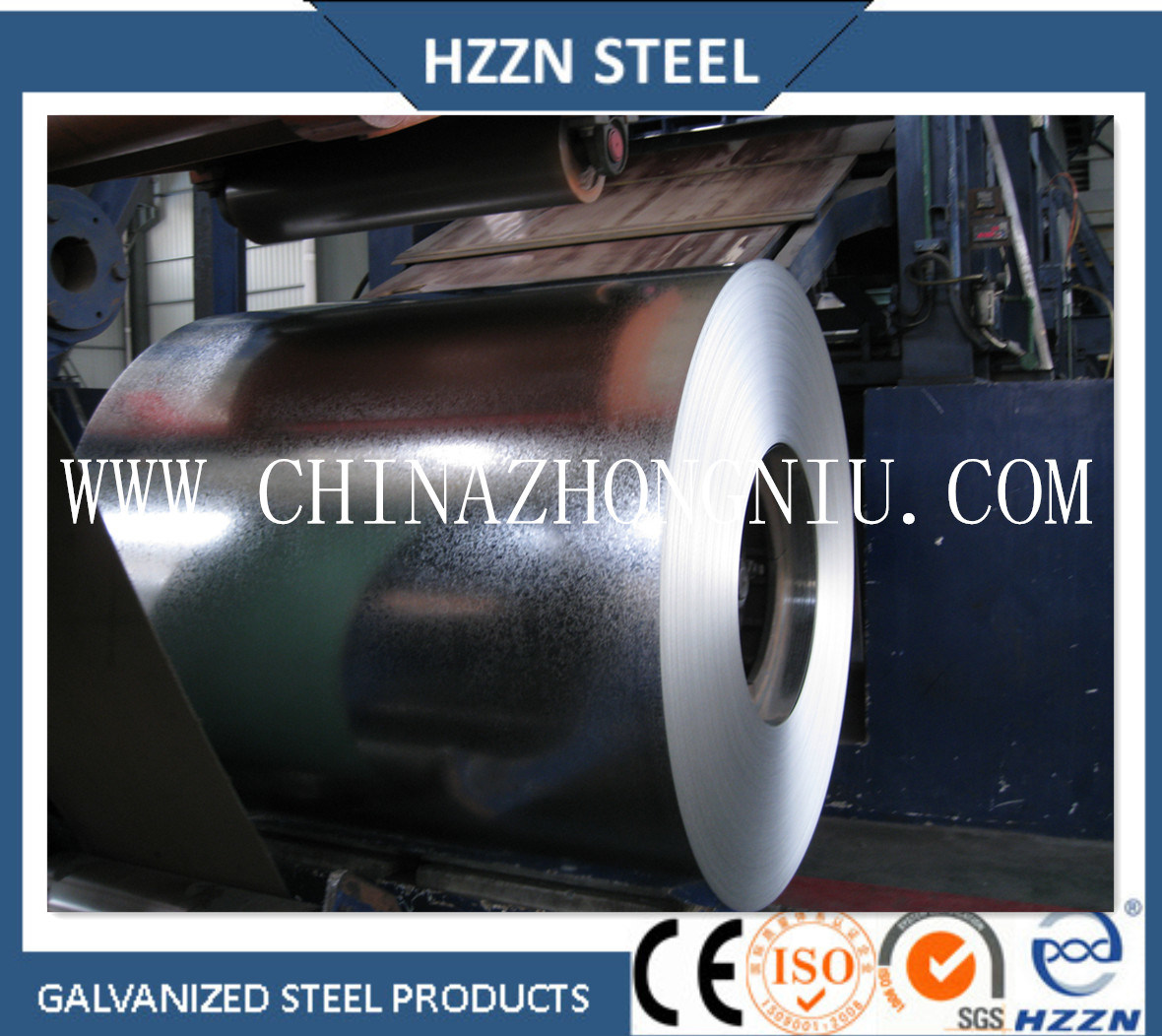 Baosteel (Huangshi) Hot Dipped Galvanized Steel Coil