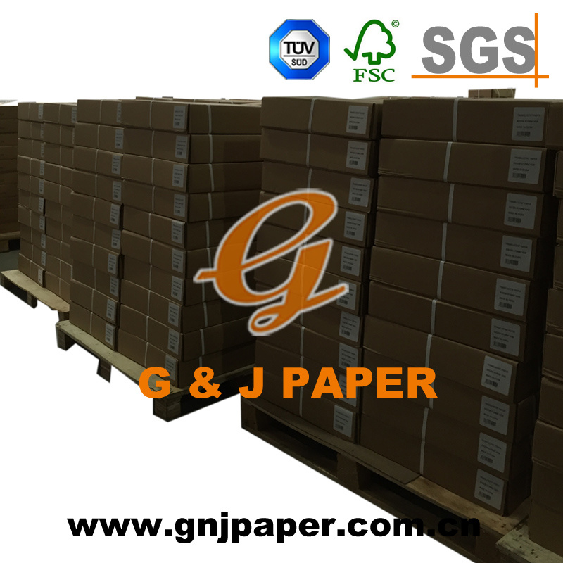 Large Size Translucent Paper with PE Laminated Kraft Paper Wrapping