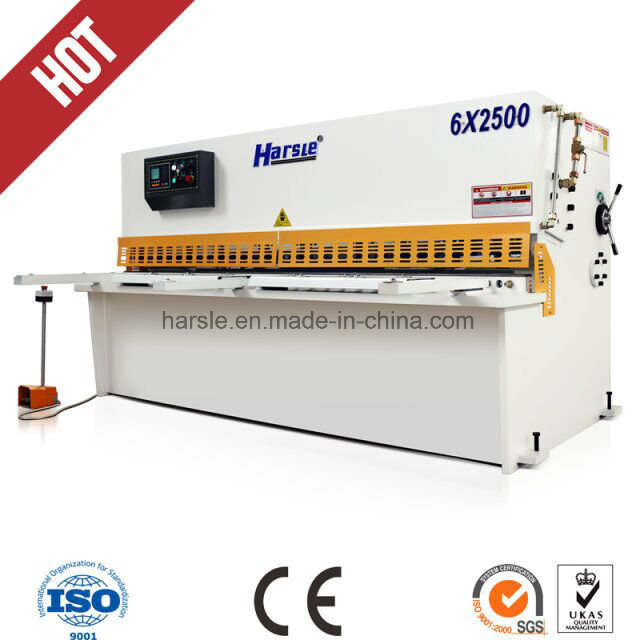 QC12y/K Hydraulic Swing Beam Shearing Machine From Manufacture