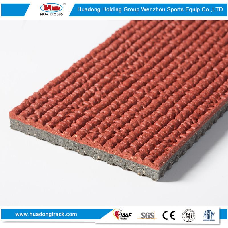 Iaaf Synthetic Stadium Flooring Rubber Athletics Running Track