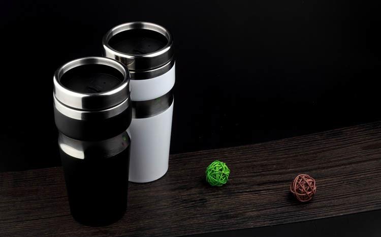 New Design Car Cigarette Lighter Self Heating Cup