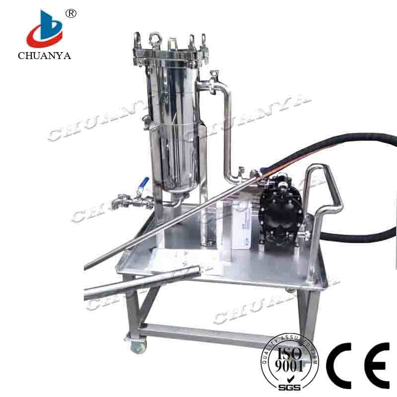 Pharmaceutical Stainless Steel Bag Filter with Pump