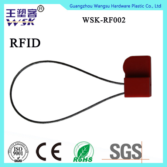 China Seal Factory Manufacture Safety Chip Injection RFID Plastic Wire Seal