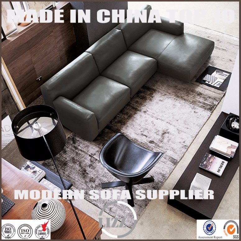 Popular Australia Modern Home Furniture Leather Feather Sofa Set