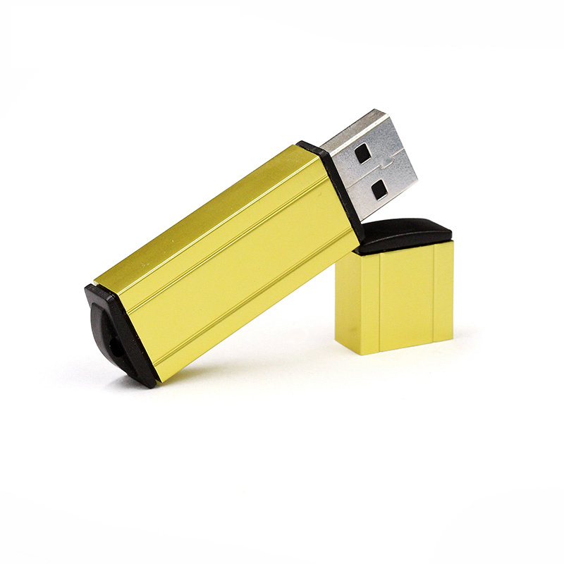 Aluminum Metal USB Flash Drive with Laser Silkcreen Logo