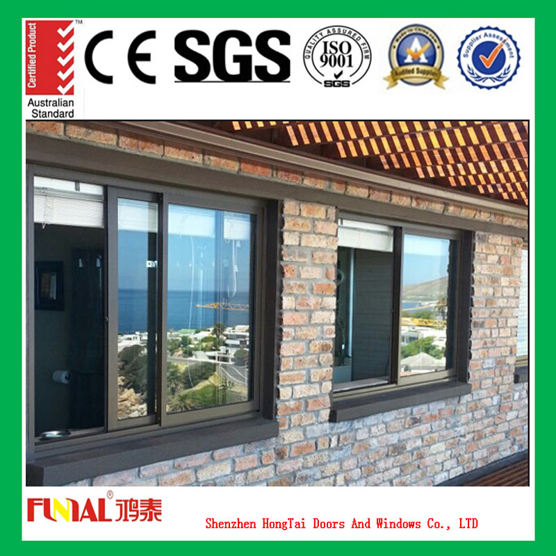 Customized Design Aluminium Alloy Window with Flyscreen