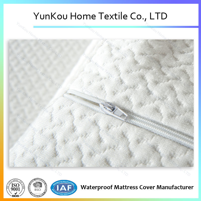 High Quality Bamboo Fiber Jacquard Knitting Pillow Case