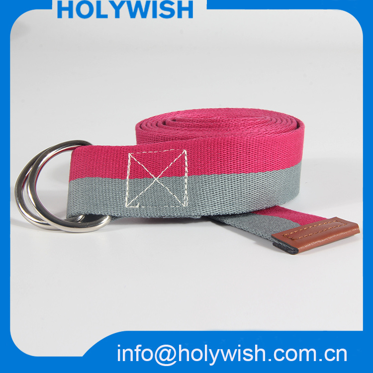 Wholesale Custom Webbing Polyester/Nylon Lady Waist Belt