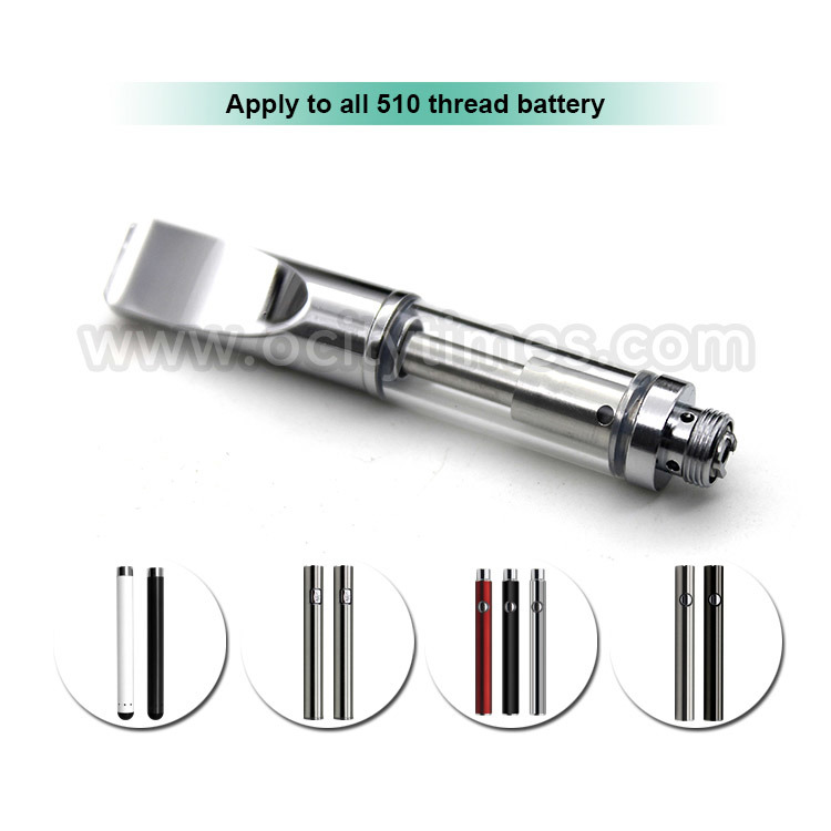 0.3ml/0.5ml/1.0ml E Cig 510 Ceramic Cbd Vape Glass Atomizer