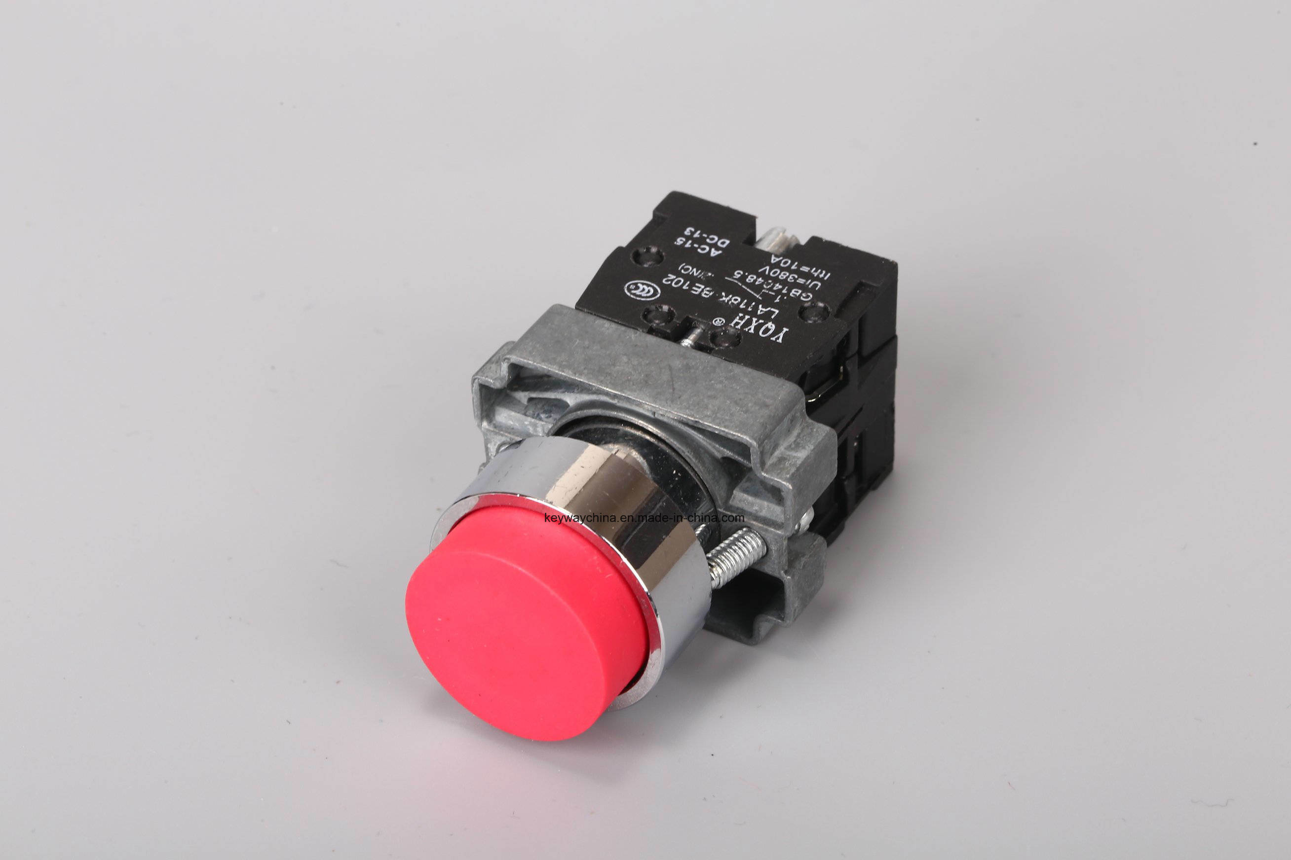 Metal Type Push Button Switch/Pushbutton with 6-380V